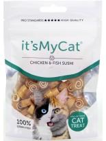 Its My Cat Suchi Chicken & Fish Grain Free - неустоимо лакомство за котки - суши пиле и риба, без зърно - 50 гр.