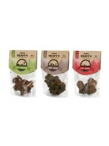 Chicopee Meaty's Duck - мек снакс, неустоимо лакомство за кучета -  кокалчета с патица (98%) -  (25%влага) - монопротеин - 80 гр.