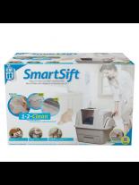 Hagen Catit Smart Sift - котешка тоалетна със система за автоматично почистване на постелката - 66х48х63 см.