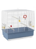 Ferplast - CAGE REKORD 4 WHITE - оборудвана клетка за птици - 59х33х57см