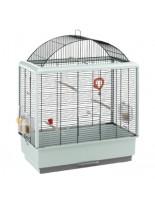 Ferplast - CAGE PALLADIO 4 BLACK - оборудвана клетка за птици  - 59х33х75 см