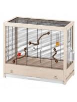 Ferplast Giulietta 4 - клетка за малки птици - канарчета, финки, екзотични птици, 57х30х50см