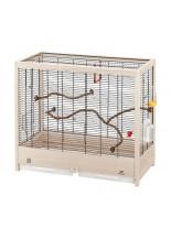 Ferplast Giulietta 5 - клетка за малки птици - канарчета, финки, екзотични птици, 69х34.5х58см