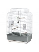 Ferplast - CAGE GALA WHITE - клетка за декоративни птици 50х30х75,5 см. (с поръчка)