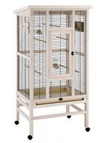 Ferplast - Ferplast Wilma - дървена волиера за средни и големи папагали и декоративни птици - 83х67х158,5 см.