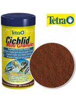 Tetra Cichlid Mini Granules - основна храна на гранули за малки цихлиди  - 250 ml.