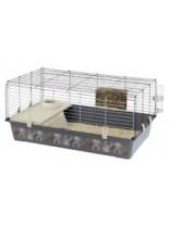 Ferplast -CAGE RABBIT 100 - клетка за зайци  и други гризачи  с размери - 95х57х46 см