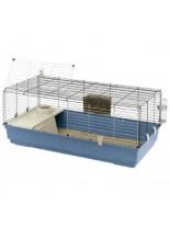 Ferplast -CAGE RABBIT 120 - оборудвана клетка за зайци  и други гризачи  с размери - 118х58,5х51,5 см