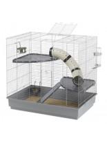 Ferplast -JENNY- оборудвана клетка за порчета  и други гризачи  с размери -  80х50х79,5