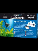Tetra Laborett (PH, KH, GH, NO2, CO2) - Куфарче с комплект водни тестове за 5 основни показателя на водата