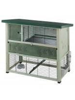 Ferplast Cage RANCH 120 Plus - напълно оборудвана клетка за зайци, 117x69x101см