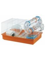 Ferplast -CAGE PAULA WHITE - оборудвана клетка за хамстер и други гризачи с размери - 46х29,5х24,5см