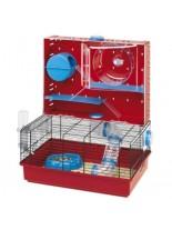 Ferplast -CAGE OLIMPIA - оборудвана клетка за хамстер и други видове гризачи с размери -  46х29,5х54см