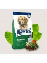HAPPY DOG F & W Adult Maxi - суха храна за пораснали кучета над 12 месеца от едрите породи (над 26 кг.) с пилешко, агнешко, говеждо, новозеландски миди, билки, омега-3 и омега-6.  - 1 кг.