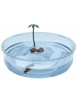 Ferplast - OASI -аквариум за костенурки  - 34.5 см в диаметър х 9,5 см височина.