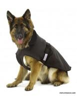 Karlie - Кожухче и дъждобран за куче 2 в 1, за кучета с дължина на гърба 76 см.