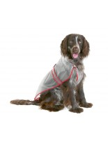 Karlie - Flamingo - дъждобран за кучета с дължина на гърба - 38 см.
