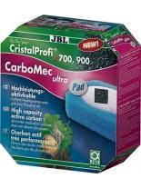 JBL Carbomec ultra Pad CP e700/1, e900/1 - филтрираш активен въглен за аквариумен филтър с гъба за филтри модел -CP e700/1, e900/1, - 500 мл.