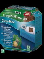 JBL ClearMec plus Pad CP e700/e900, 500мл - комплект за отстраняване на фосфати, нитрати и нитрити от водата за външен аквариумен филтър модели - СР е700 и е900
