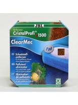 JBL ClearMec plus Pad CP e1500/1, 800мл - комплект за отстраняването на фосфати, нитрати и нитрити от водата за външен аквариумен филтър модел - CP e1500/1