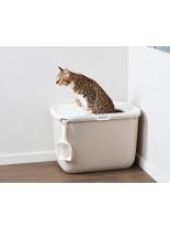 Savic Hop in - котешка тоалетна с вход отгоре - 58.5 х 39 х 39.5 см. - цвят антрацит или мока