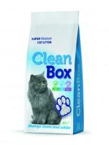 CleanBox Super Premium - , постелка за котешка тоалетна от фин бял бентонит - натурална - 5 л.