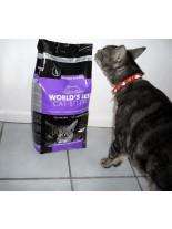 World's Best Cat Litter Multiple cat 3.18 kg - котешка постелка с аромат на лавандула, биоразградима