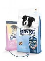 HAPPY DOG Baby Original - пълноценна храна за кученца от 4 седмична до 6 месечна възраст от всички породи с пилешко месо - 4 кг.
