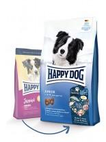 Happy Dog Junior Original - пълноценна храна за подрастващи кучета над 7 месеца от всички породи с пилешко и агнешко - 1 кг.