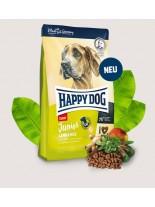 Happy Dog Junior Giant Lamb & Rice - пълноценна храна за подрастващи кучета гигантските породи от 7 до 18 месеца - 4 кг.