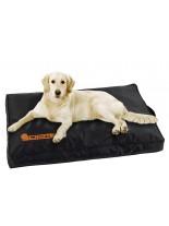 Karlie cushion no limit - дишащ матрак за кучета с висока функционалност и високо качество -  80х55х8 см. - черен