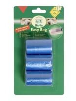 Karlie - Easy Bag - Хигиенни торбички за отпадъци - розова или синя - 3 ролки х 20 бр.