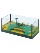 Ferplast - HAITI 40 - аквариум за костенурки  - 41,5х21,5х16 см