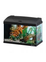 Ferplast Aquarium Capri 50 LED - аквариум с пълно оборудване и LED осветление - 52 x 27 x h 36 см - 50 л. - черен