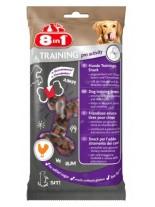 8in1 - Minis training proactivity   - Лакомство за кучета с Пилешки филенца от най-високо качество - 100 гр.