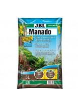 JBL Manado - натурален субстрат за естествена филтрация и подхранване растежа на водните растения в аквариума - 5 l.