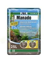 JBL Manado - натурален субстрат за естествена филтрация и подхранване растежа на водните растения в аквариума - 25 l.