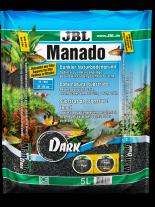 JBL Manado Dark - натурален субстрат за естествена филтрация и подхранване растежа на водните растения в аквариума - 10 l.