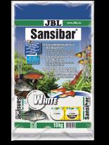 JBL Sansibar WHITE -  - дънен, подхранващ субстат за сладководни или соленоводни аквариуми и териариуми - 10 кг. - Бял
