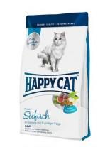 HAPPY CAT La Cuisine Seafish - суха храна за котка - Ла Кузин  - За чувствителни коткинад 1 година с органично Морска риба и смокини - 4.00 кг.