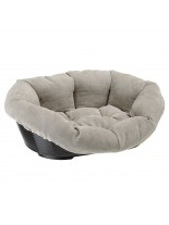 Ferplast - SOFA 2 PIED-DE-POULE - пластмасово легло с дюшече за куче или котка  - 49х36х17см