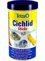 Tetra Cichlid stick - Универсална ежедневна храна за всички видове цихлиди на плаващи пръчици - 500 мл.