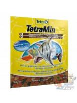 TetraMin  - Универсална, основна храна на люспи за всички видове аквариумни рибки - 12 гр.