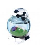 Tetra - Aquarium Cascade Globe Football - Aквариум сфера, с осветление и фонтанен филтър за Бети и  други малки рибки - 6.8 л.