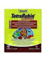 Tetra Rubin Granules - Универсална гранулирана храна с естествени съставки подсилващи яркостта на цветовете на аквариумните рибки -  12 гр.