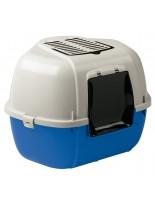 Ferplast - LITTER TRAY MIKA - ъглова затворена котешка тоалетна - 57,5 x 51,5 x h 42 см.