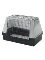 Ferplast - ATLAS CAR 100 GREY- транспортна клетка за кол за куче или котка  - 100х60х66 см.