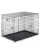 Ferplast - Dog-Inn 105 - сгъваема клетка за кучета 108.5х 72.7х 76.8 см.