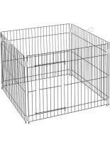 Ferplast - DOG TRAINING- сглобяемо ограждение за домашни любимци - 80 x 80 x h 62 см.
