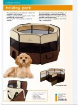 Ferplast - HOLIDAY PARC - сглобяема къща-преграда за малки кучета - Ø 118 x 61 см. (с поръчка)